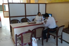 Parmarth Niketan Reception Office